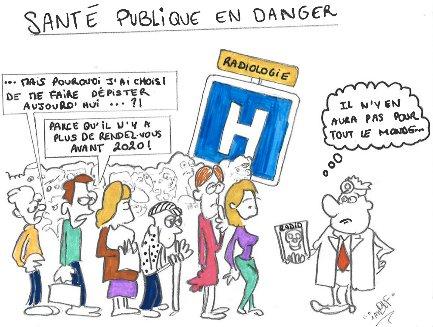 sANTÉ PUBLIQUE EN DANGER