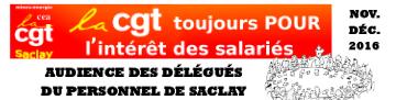 LA CGT CEA SACLAY